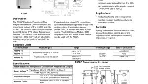 Johnson Controls A350p Wiring Diagram Electronic Proportional Plus Integral Temperature Control