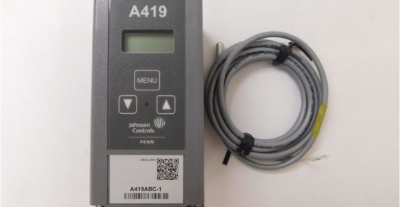 Johnson Controls A419 Wiring Diagram Johnson Controls A419abc 1c Electronic Temp Controller