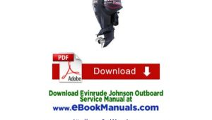 Johnson Outboard Wiring Diagram Pdf 1990 2001 Johnson Evinrude Outboard Service Manual 1 Hp to 300 Hp