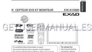 Jvc Kw Avx800 Wiring Diagram Jvc Receivers Kw Avx800 Instruction Manual Download Free
