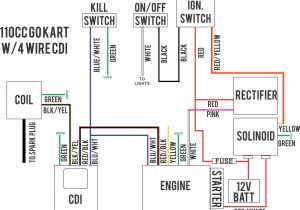 Kazuma 50cc atv Wiring Diagram 50cc Wire Diagram Wiring Diagram Show