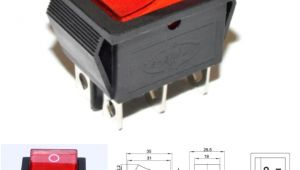 Kcd4 Rocker Switch Wiring Diagram 6 Pin Kcd4 202n On Off Rocker Switch Dpdt 16a 250v