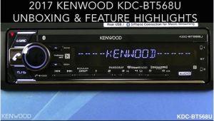 Kenwood Kdc Bt368u Wiring Diagram Kenwood Kdc Bt568u 2017 Audio Receiver Unboxing Feature Highlights