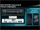 Kenwood Kdc Bt372u Wiring Diagram 2020 Kenwood Kdc Bt378u Cd Receiver with Alexa Unboxing Feature Highlights