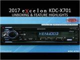 Kenwood Kdc Bt372u Wiring Diagram Kenwood Excelon Kdc X701 2017 Audio Receiver Unboxing Feature Highlights