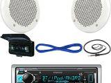 Kenwood Kmr M318bt Wiring Diagram Kmr M318bt Boat Mp3 Usb Pandora Bluetooth Player 4 Enrock Speakers