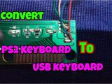 Keyboard Wiring Diagram Usb Ps2 to Usb Schematic Wiring Diagram