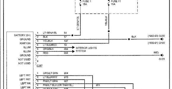 Kia Sportage Stereo Wiring Diagram 2000 Kia Sportage Stereo Wiring