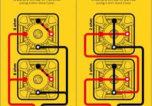 Kicker L7 Wiring Diagram 1 Ohm Kicker Wire Diagram Wiring Diagram