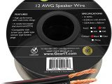 Kicker Rca Converter Wiring Diagram 12awg Speaker Wire Gearit Pro Series 12 Awg Gauge Speaker Wire Cable 100 Feet 30 48 Meters Great Use for Home theater Speakers and Car Speakers