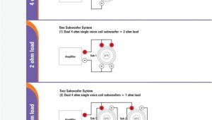 Kicker Wiring Diagram Subwoofer Wiring Diagrams with Diagram Dual 1 Ohm Gooddy org for