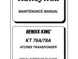 King Kt76a Wiring Diagram Kt 76a 78a Mant Manual Pdf Amplifier Electronic Oscillator
