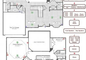Kitchen Electrical Wiring Diagram Smart House Wiring Diagrams Wiring Diagram Technic