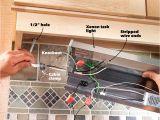 Kitchen Light Wiring Diagram Under Cabinet Lighting without Wiring Wiring Diagram Schematic