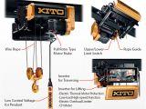Kito Electric Chain Hoist Wiring Diagram Technicalcharacteristicsi Ryli Hoistsi Productsi Kito Corporation