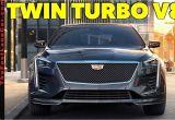 Largest Cadillac Sedan 2019 Cadillac Ct6 Vsport is the Big American V8 Luxury Sedan Back