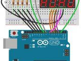 Lcd Display Wiring Diagram Arduino 7 Segment Display 4 Digit Display Connection Diagram