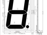 Lcd Display Wiring Diagram Od 103r 1 Digit Lcd Glass Panel Reflective Tn Glass Panel