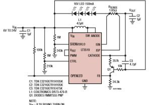 Led Driver Wiring Diagram Constant Current Led Drive Circuit Diagram Wiring Diagram Name
