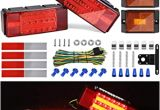 Led Equipped Light Bar Wiring Diagram Kohree New Led Submersible Trailer Tail Light Kit 12v Led Utility Trailer Lights Dot Approval Fully Submersible License Lights and Wiring Kit