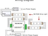Led Strip Light Wiring Diagram Pdf Amazon Com Supernight Dc 12v to 24v 12a Led Strip Lights 3