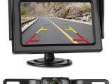 Leekooluu Backup Camera Wiring Diagram Amazon Com Leekooluu Reverse Camera and Monitor Kit License Plate