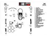 Leer Camper Shell Wiring Diagram Kia soul 2010 2011 Mittelkonsole Armaturendekor Cockpit