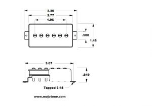 Leer Truck Cap Wiring Diagram Mojotone Humbucker Sized P 90 Pickup
