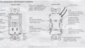 Leviton Gfci Receptacle Wiring Diagram Leviton Gfci Receptacle Wiring Diagram Mycoffeepot org