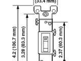 Leviton Illuminated Switch Wiring Diagram 1451 2w 15 Amp Single Pole toggle Framed Ac Quiet Switch
