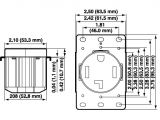 Leviton Nema 10 30r Wiring Diagram 5372 30 Amp Nema 6 30r Flush Mtg Receptacle In Black Leviton