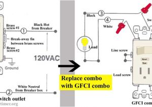 Leviton Switch Outlet Combination Wiring Diagram Wiring Diagram Further Wiring A Light Switch and Gfci Outlet