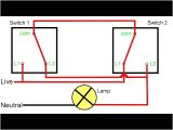 Light Switch Wiring Diagram 2 Way Two Way Light Switching Explained Youtube