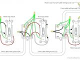 Lighted 3 Way Switch Wiring Diagram Three Way Switch with Dimmer Diverg Co