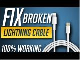 Lightning Cable Wiring Diagram Best Way to Fix iPhone iPod Ipad Lightning Usb Cable at Home Youtube