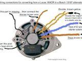 Lucas 16 Acr Alternator Wiring Diagram Muenchausen S Garage Ac Generator Truck Repair Electric Cars