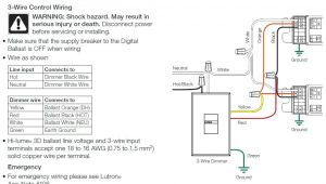 Lutron Hi Lume A Series Wiring Diagram Lutron Hi Lume A Series Wiring Diagram Beautiful How to Wire