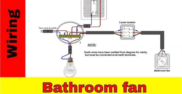 Manrose Fan Wiring Diagram How to Wire Bathroom Fan Uk Youtube