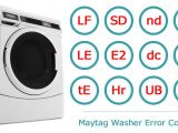 Maytag Centennial Washer Wiring Diagram Maytag Washer Error Codes Washer and Dishwasher Error Codes and