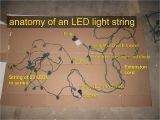 Mini Christmas Light Wiring Diagram Georgesworkshop Fixing Led String Lights