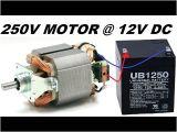 Mixer Motor Wiring Diagram Run A High torque Mixer Drill Motor at 12v without Any Circuit