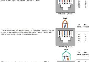 Modular Phone Jack Wiring Diagram Phone Jack Wiring 6 Contacts Wiring Diagram Details