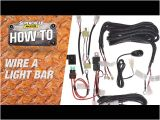 Motorcycle Driving Lights Wiring Diagram How to Wire A Led Light Bar Supercheap Auto Youtube