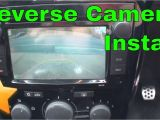 Motorhome Reversing Camera Wiring Diagram How to Install A Reversing Camera Canbus Youtube