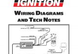 Msd 6530 Wiring Diagram Msd Ignition Wiring Diagrams and Tech Notes Distributor Ignition