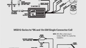 Msd 6a Wiring Diagram Gm Msd Wiring Gm Wiring Diagram Value