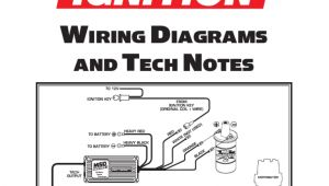 Msd 6ls Wiring Diagram Msd Ignition Wiring Diagrams and Tech Notes Distributor Ignition