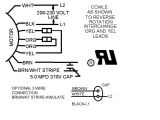 Multi Speed Motor Wiring Diagram 3 Wire and 4 Wire Condensing Fan Motor Connection Hvac School