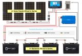 Off Grid solar System Wiring Diagram solar Panel Calculator and Diy Wiring Diagrams for Rv and Campers