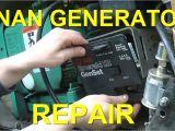 Onan Quiet Diesel 7500 Wiring Diagram Onan Generator Repair Replacing Control Board Voltage Regulator